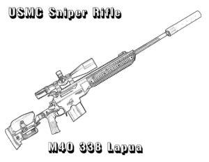 -картинки-раскраски-10-300x232 Снайпер