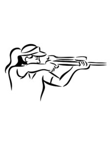Снайпер картинки раскраски (12)