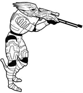 -картинки-раскраски-13-267x300 Снайпер