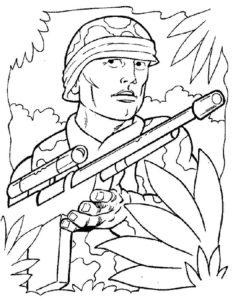 -картинки-раскраски-4-236x300 Снайпер