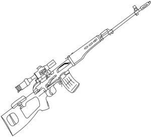 -картинки-раскраски-7-300x271 Снайпер