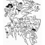 Супергерои картинки раскраски (1)