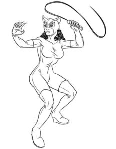 Супергерои картинки раскраски (10)