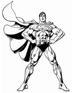 Супергерои картинки раскраски (13)