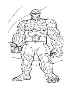 Супергерои картинки раскраски (17)