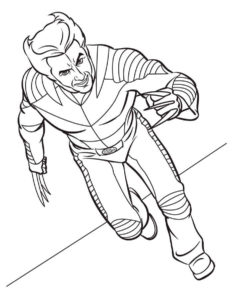 Супергерои картинки раскраски (18)