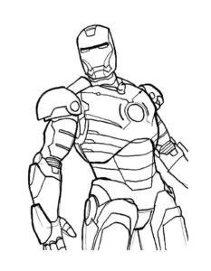 Супергерои картинки раскраски (19)