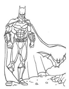 Супергерои картинки раскраски (22)