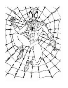 Супергерои картинки раскраски (23)