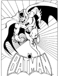 Супергерои картинки раскраски (24)