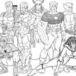 Супергерои картинки раскраски (25)