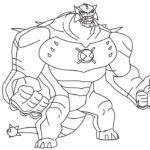 Супергерои картинки раскраски (3)