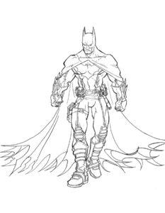 Супергерои картинки раскраски (4)
