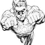 Супергерои картинки раскраски (6)