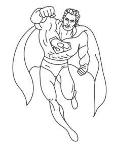 Супергерои картинки раскраски (8)