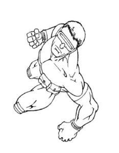 Супергерои картинки раскраски (9)