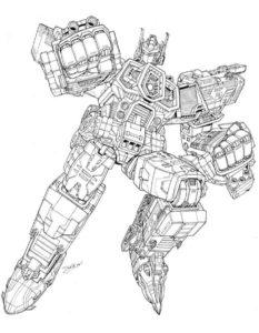 Трансформеры картинки раскраски (1)
