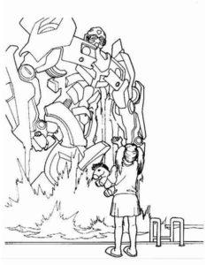 Трансформеры картинки раскраски (14)