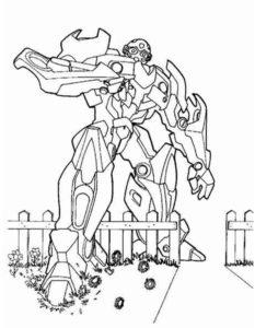 Трансформеры картинки раскраски (21)