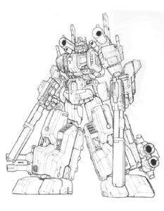 Трансформеры картинки раскраски (25)