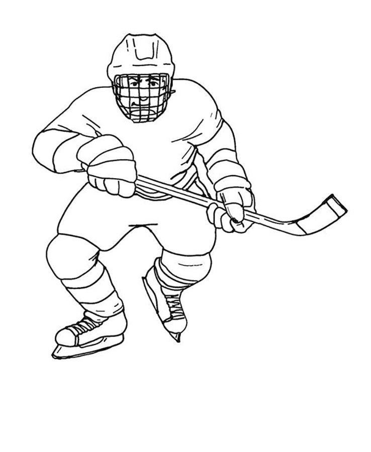 Картинки рисовать хоккей