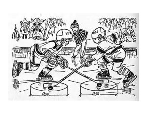 Хоккей картинки раскраски (49)