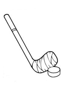 Хоккей картинки раскраски (65)