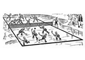 Хоккей картинки раскраски (70)