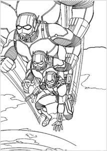 Человек муравей картинки раскраски (14)