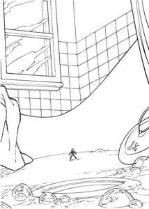 Человек муравей картинки раскраски (2)
