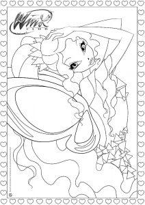винкс винкс тайникс картинки раскраски крупные (28)