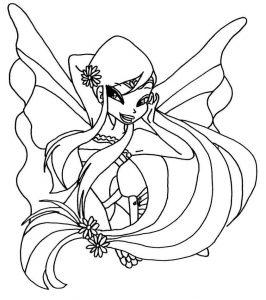 винкс гармоникс картинки раскраски крупные (1)