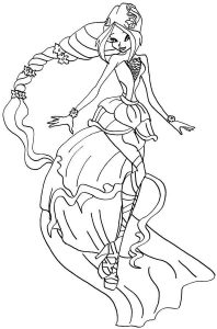 винкс гармоникс картинки раскраски крупные (3)