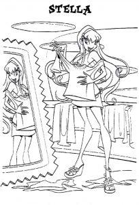 винкс чармикс картинки раскраски крупные (2)
