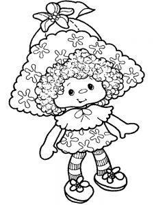 кукла картинки раскраски крупные (31)