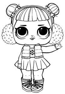 куклы лол картинки раскраски крупные (1)