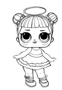 куклы лол картинки раскраски крупные (11)