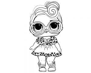 куклы лол питомцы картинки раскраски крупные (2)