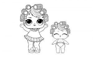 куклы лол раскраски картинки крупные (24)