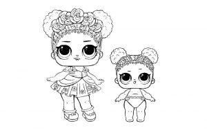куклы лол раскраски картинки крупные (31)