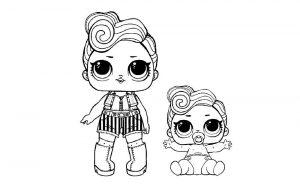куклы лол раскраски картинки крупные (33)