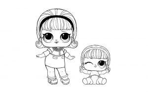куклы лол раскраски картинки крупные (37)