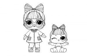 куклы лол раскраски картинки крупные (38)