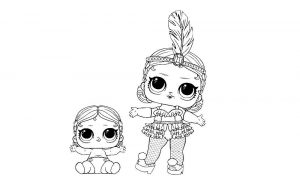 куклы лол раскраски картинки крупные (42)