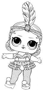 куклы лол раскраски картинки крупные (58)
