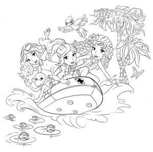 лего френдс картинки раскраски крупные (33)