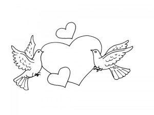 любовь картинки раскраски крупные (12)