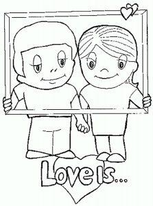любовь картинки раскраски крупные (34)