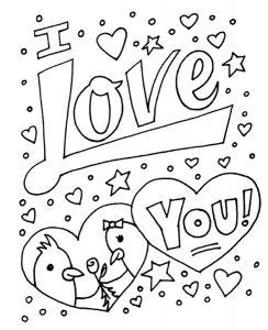 -картинки-раскраски-крупные-40-244x300 Любовь