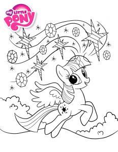 мой маленький пони искорка сумеречная картинки раскраски крупные (1)